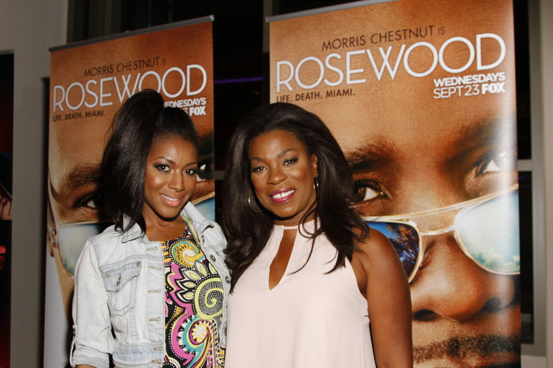 """Gabrielle Dennis and Lorraine Toussaint  at the """"Rosewood"""" Screening Tour in Los Angeles Photo Credit: Arnold Turner."""