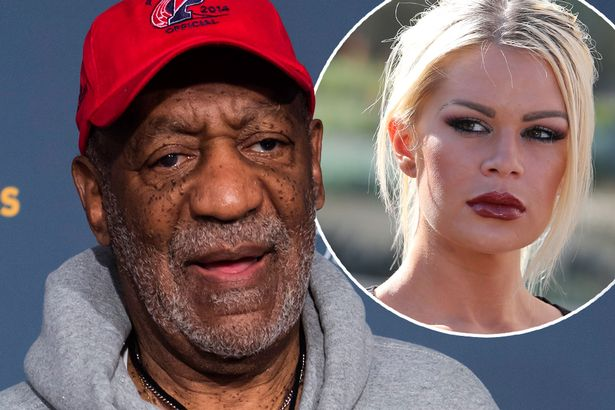 Bill Cosby and one of his accusers, Chloe Goins