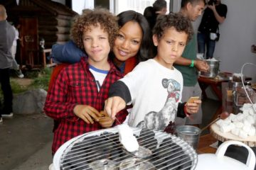 Garcelle Beauvais & twin boys
