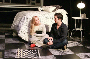 Haley Dean and David Siciliano in a scene from 'The Black Book.'