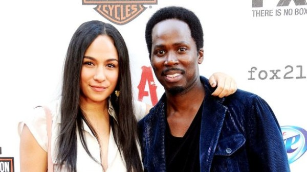 Harold-Perrineau and daughter Aurora
