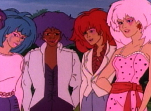 TV series Jem and the Holograms.