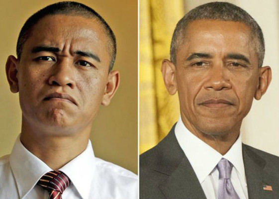 Obama imperonator XIAO JIGUO-BARACK OBAMA