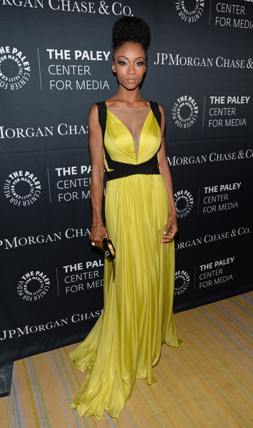 Yaya DaCosta at The Paley Center for Media's Hollywood Tribute to African-American Achievements in Television, Photo credit: The Paley Center for Media