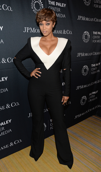 Tyra Banks at The Paley Center for Media's Hollywood Tribute to African-American Achievements in Television, Photo credit: The Paley Center for Media