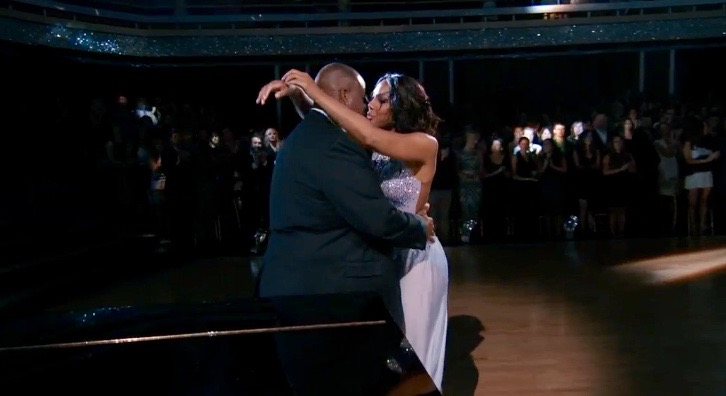 Tamar and Vince DWTS