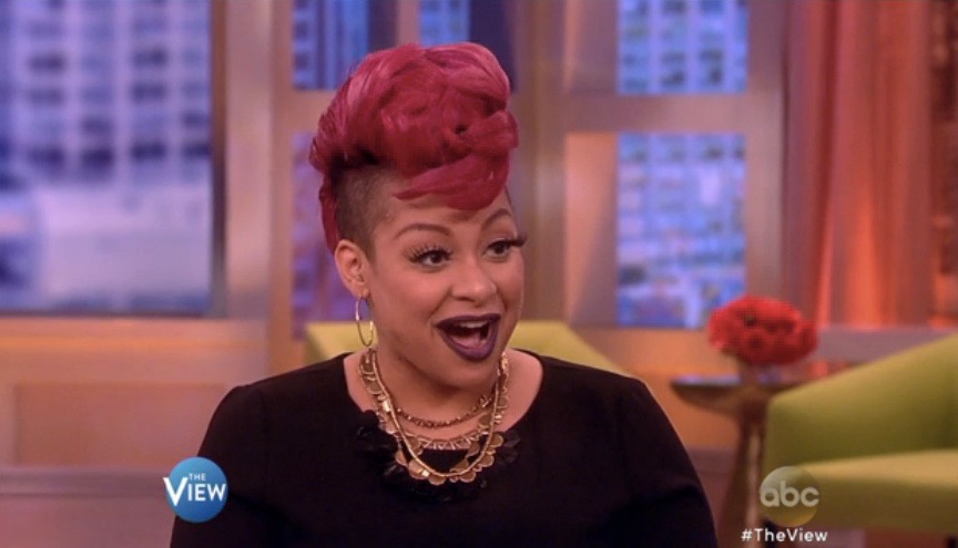 "Raven Symone on ""The View"" (Oct. 9, 2015)"