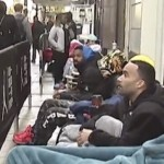 People Camping Out at Nike's New Jordan-Only Store in Chicago