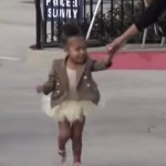 North West to Paparazzi: 'I Said No Pictures!' (Watch)