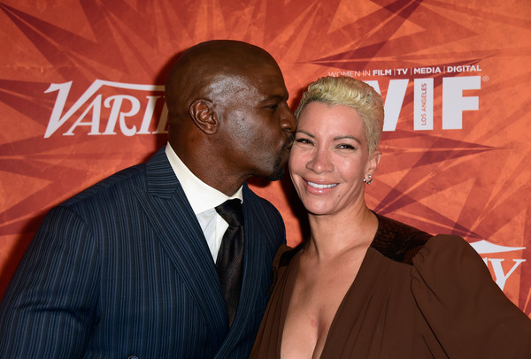 Terry Crews and wife Rebecca Crews