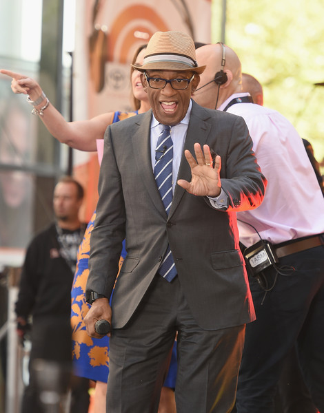 """Al Roker attends NBC's """"Today"""" at the NBC's TODAY Show on May 22, 2015 in New York, New York."""