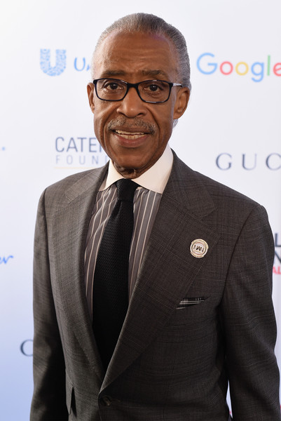 Reverend Al Sharpton attends the 2015 Global Citizen Festival to end extreme poverty by 2030 in Central Park on September 26, 2015 in New York City.