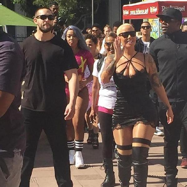 amber rose (slut walk)