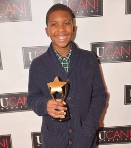 Anthony Michael Hobbs (Emmy nominated PBS' 'The Abolitionists') winner of the 'Best Filmmaker 18 and Under' Award at the=2015 Ocktober Film Festival. (Photo Credit: Jeff Smith)