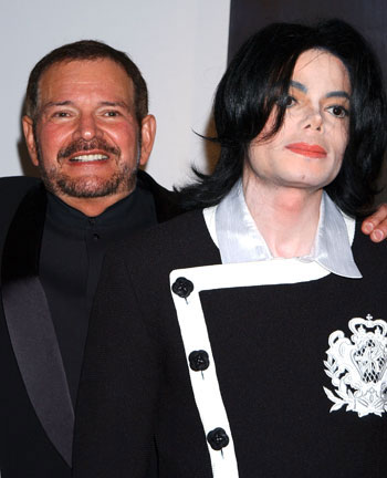 Dr. Arnold Klein and Michael Jackson