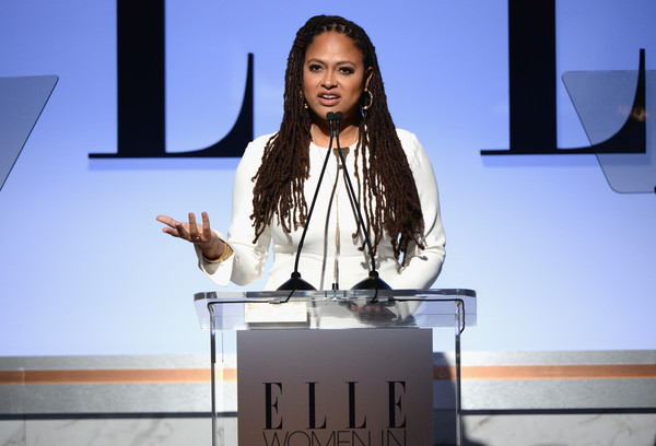 Honoree Ava DuVernay speaks onstage during the 22nd Annual ELLE Women in Hollywood Awards at Four Seasons Hotel Los Angeles at Beverly Hills on October 19, 2015 in Los Angeles, California