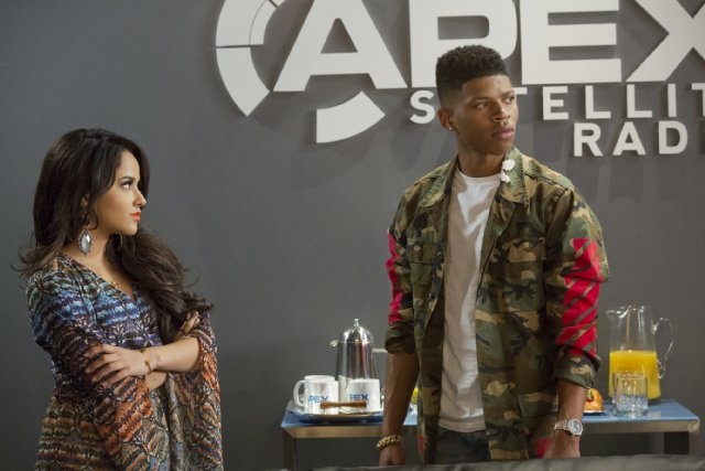 "Becky G and Bryshere Gray in Empire ""Fires of Heaven"""