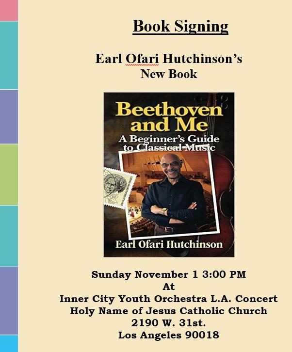 beethoven & me book signing