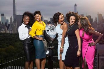 women of 'black love' tv show