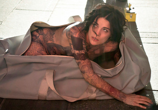 "Jaimie Alexander of NBC's ""Blindspot"""
