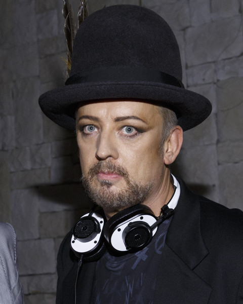 Boy George attends the Boy George/Culture Club Sold Out Concert After Party at Le Jardin on July 23, 2015 in Hollywood, California.