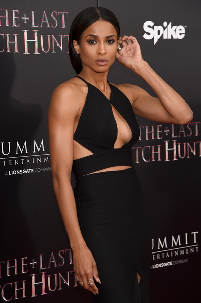 "Singer Ciara attends the New York premiere of ""The Last Witch Hunter"" at AMC Loews Lincoln Square on October 13, 2015 in New York City"