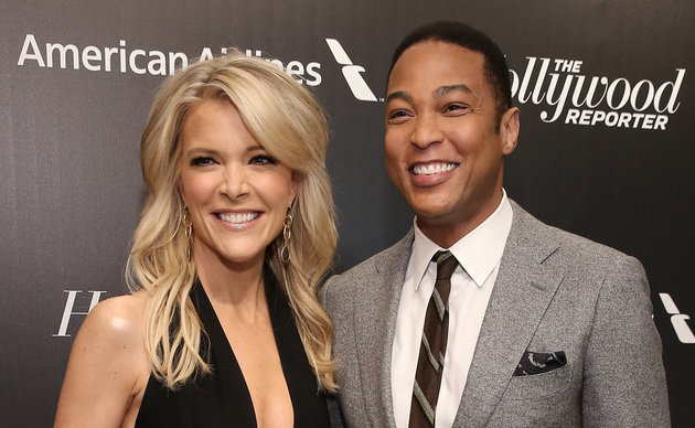 Megyn Kelly and Don Lemon attend 'The 35 Most Powerful People In Media' celebrated by The Hollywood Reporter at Four Seasons Restaurant on April 8, 2015 in New York City