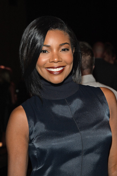 Actress Gabrielle Union attends the rag & bone Spring 2016 fashion show during New York Fashion Week at St. Ann's Warehouse on September 14, 2015 in New York City