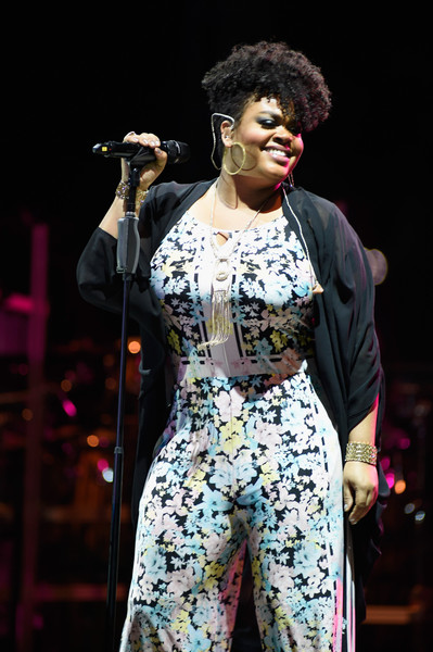 Jill Scott performs during day 2 of the Cincinnati Music Festival at Paul Brown Stadium on July 25, 2015 in Cincinnati, Ohio