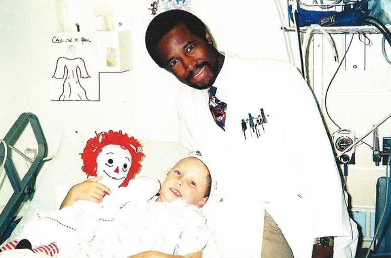 Karly Bailey and Dr. Ben Carson