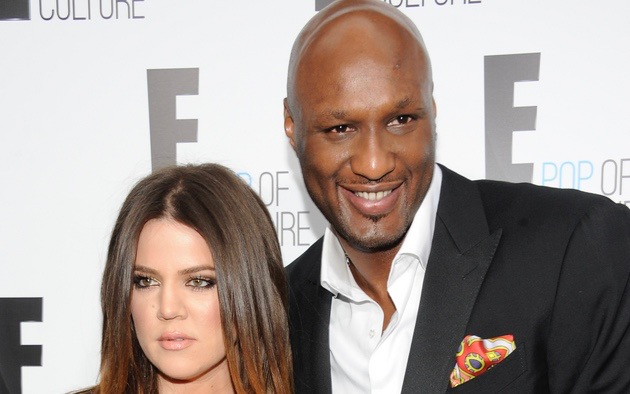 Khloe Kardashian Odom and Lamar Odom in April 2012, while attending an E! Network upfront event at Gotham Hall in New York. (AP Photo/Evan Agostini, File)