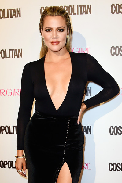 Khloe Kardashian attends Cosmopolitan's 50th Birthday Celebration at Ysabel on October 12, 2015 in West Hollywood, California