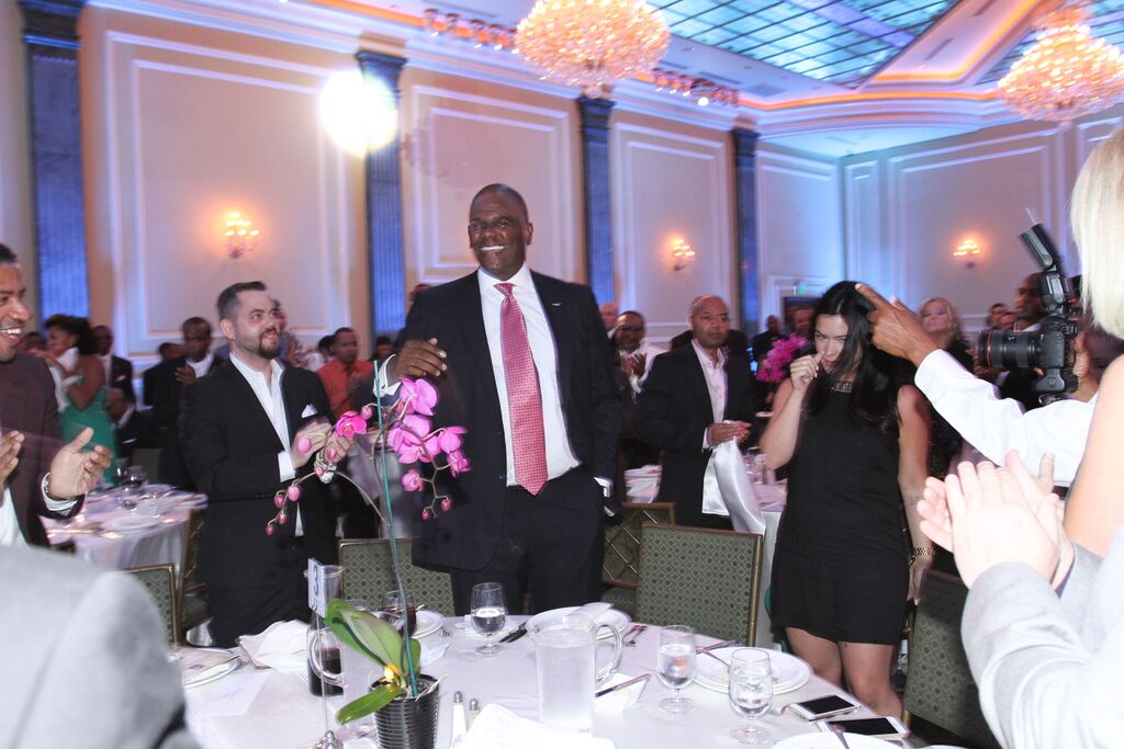 LLF board member and Living Legends Awards Dinner and Gala Co-chairperson Jon Platt   receives standing ovation for his new promotion to CEO of Warner Chappell Music Publishing