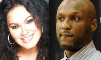 Liza Morales and Lamar Odom