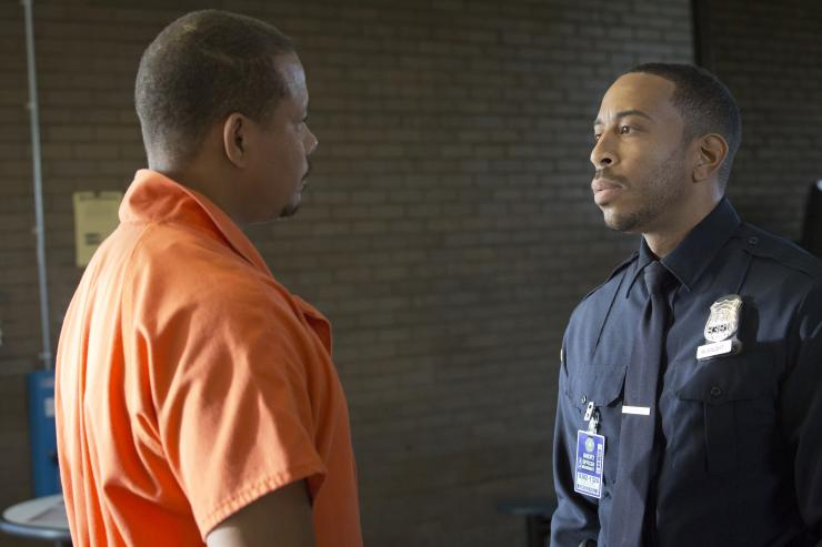 "Terrence Howard (L) and Ludacris in ""Empire"""
