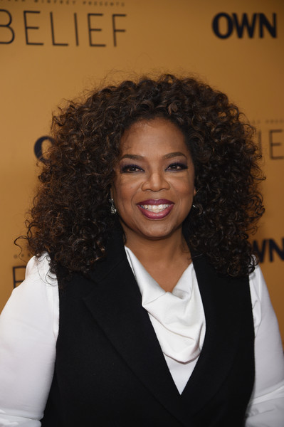 """Oprah Winfrey attends the """"Belief"""" New York premiere at TheTimesCenter on October 14, 2015 in New York City."""