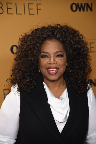 "Oprah Winfrey speaks at the ""Belief"" New York premiere at TheTimesCenter on October 14, 2015 in New York City."