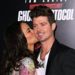 Robin Thicke Talks Co-Parenting with Paula Patton