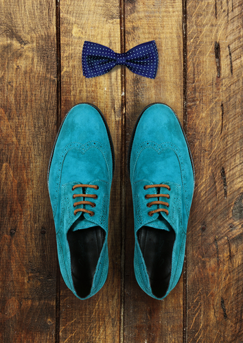 green shoes - bow tie