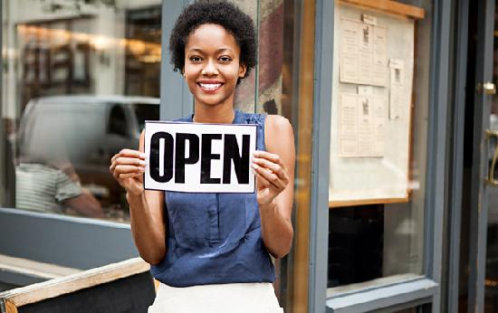 small business (open)