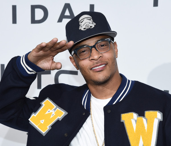 Hip-hop artist T.I. attends TIDAL X: 1020 at Barclays Center on October 20, 2015 in the Brooklyn borough of New York City.