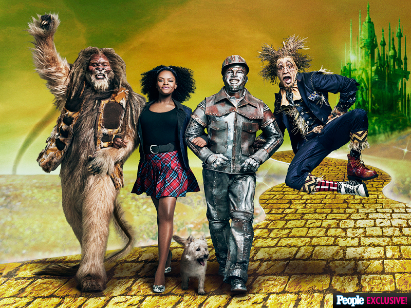 Cast of NBC's The Wiz Live!