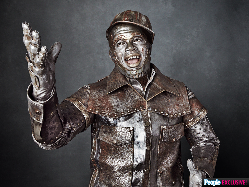 Ne-Yo as the Tin Man