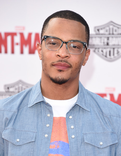 T.I. arrives at the Los Angeles Premiere of Marvel Studios 'Ant-Man' at Dolby Theatre on June 29, 2015 in Hollywood, California