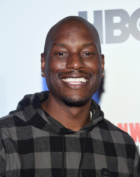 """Tyrese Gibson attends the """"Muhammad Ali: The People's Champ"""" Opening Night Film - 2015 Urbanworld Film Festival - Inside Arrivals at AMC Empire 25 theater on September 23, 2015 in New York City."""