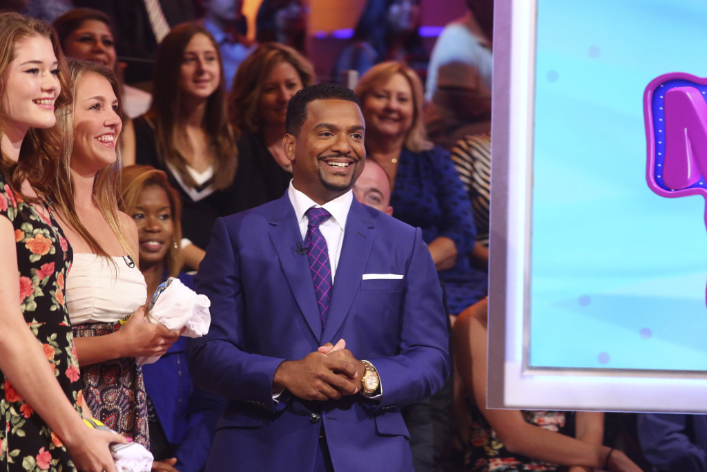 "AMERICA'S FUNNIEST HOME VIDEOS - ""Episode 2601"" -- ""America's Funniest Home Videos,"" the longest-running primetime show in ABC history, returns with new host Alfonso Ribeiro (""Dancing with the Stars,"" ""The Fresh Prince of Bel-Air"") on SUNDAY, OCTOBER 11 (7:00-8:00 p.m., ET) on the ABC Television Network. The video highlights in the season 26 premiere episode include a package of ""Animal Encounters"" complete with an affectionate seal who jumps into a man's kayak to snuggle, a dolphin who gives a woman climbing into a boat a playful nudge, a sneaky raccoon is caught on camera climbing into the house through a doggy door to steal the dog's food, a woman finds a possum underneath her bed, and a practical joke is played on a group of teens who bite into caramel onions rather than apples. (ABC/Michael Ansell) ALFONSO RIBEIRO"