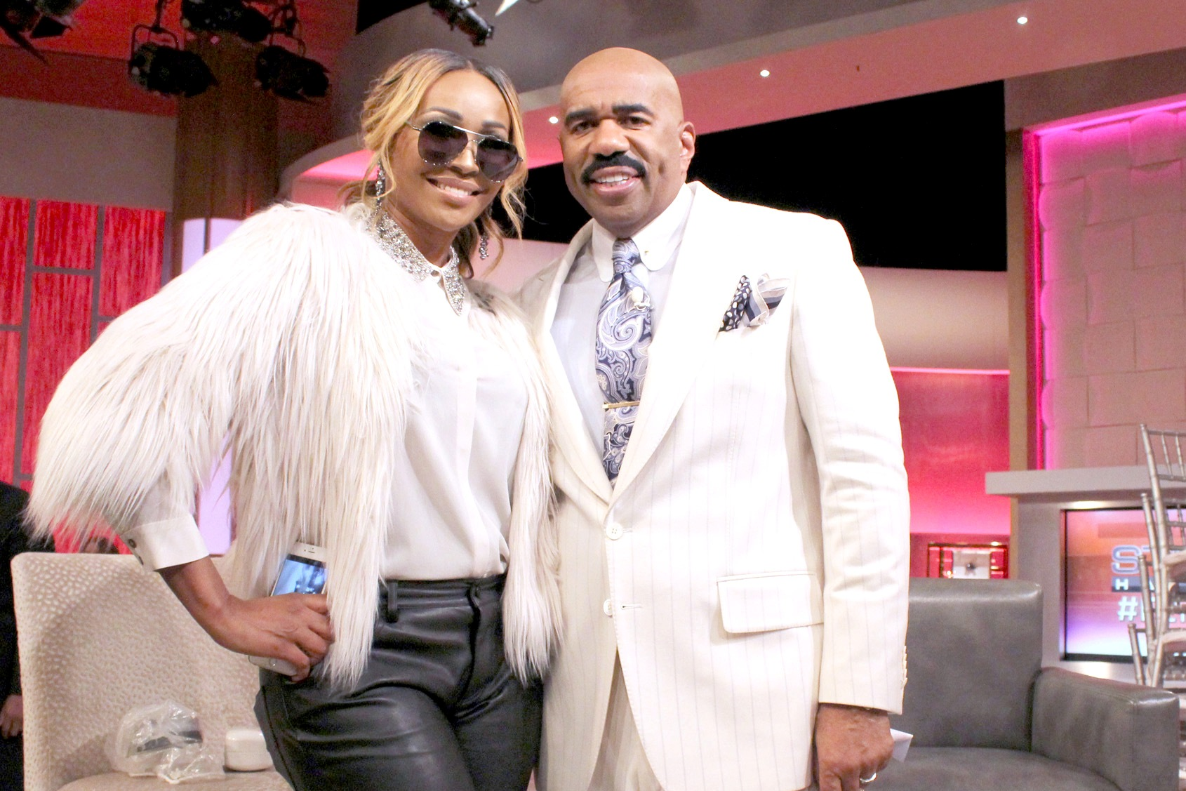 Cynthia Bailey and Steve Harvey