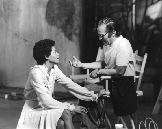 Diana Ross and Sidney Lumet