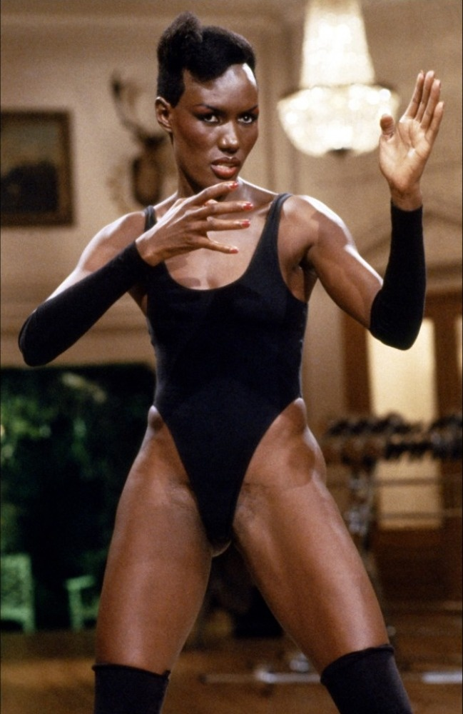 "Grace Jones as ""May Day"" in A View to a Kill"