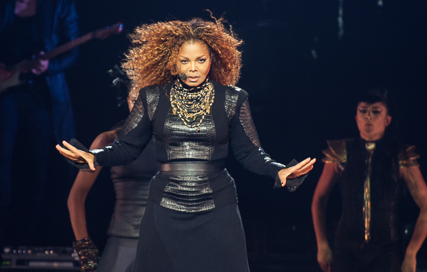 Janet Jackson hits #1 for the seventh time in her career thanks to her company Rhythm Nation, BMG, JDJ Entertainment, Sterling Winters, Jam & Lewis.